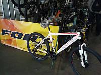 Велосипед горный Fort Master 26 Diskрама 19 бело-серо-красный