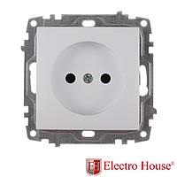ElectroHouse Механизм розетки б\з Enzo EH-2123