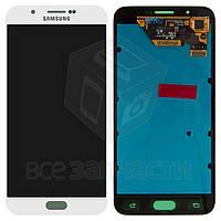 Дисплей для мобильного телефона Samsung A800F Dual Galaxy A8; Samsung, белый, с сенсорным экраном, original (PRC)