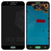 Дисплей для мобильного телефона Samsung A800F Dual Galaxy A8, серый, с сенсорным экраном, original (PRC)