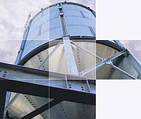 Силос металичекий для хранения зерна с коническим днищем