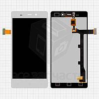 Дисплей для мобильных телефонов BLU L240A Life Pure, L240I Life Pure; Fly IQ453; Gionee  Elife E6, белый, с сенсорным экраном