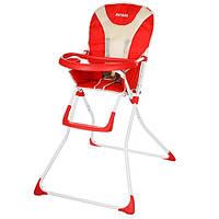 Стульчик для кормления Bambi Q01-Chair-3 Красный