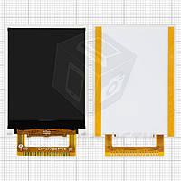 Дисплей для мобильных телефонов Bravis Base; Nomi i180, 20 pin, (47*35), #CM-177B64-16