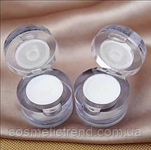 Пигмент/хайлайтер/тени рассыпчатые Highlighter Shining Shimmer Powder Pigment White Color, фото 3