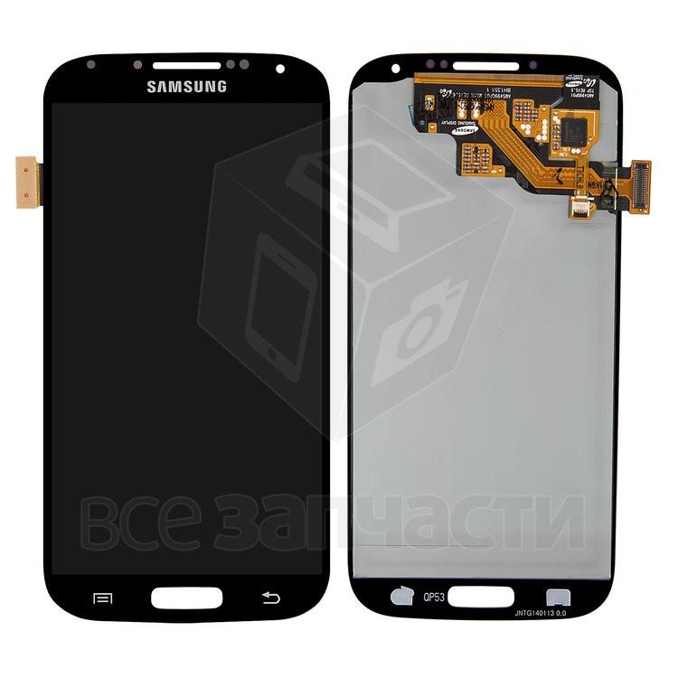 дисплей Samsung I337 I545 I9500 Galaxy S4 I9505 Galaxy S4 I9506 Galaxy S4 I9507 Galaxy S4 M919 черный с сенсорным