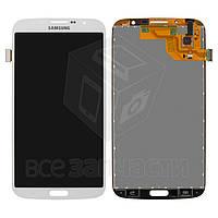Дисплей для мобильных телефонов Samsung I9200 Galaxy Mega 6.3, I9205 Galaxy Mega 6.3, белый, с сенсорным экраном, original (PRC)