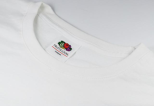 Белая мужская мягкая футболка