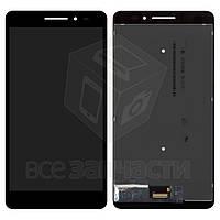 Дисплей для планшета Lenovo Phab Plus PB1-770M LTE, черный, с сенсорным экраном