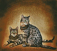 """Схема для вышивания """" Египетские мау """""""