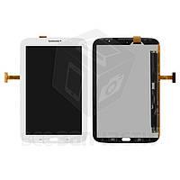 Дисплей для планшетов Samsung N5100 Galaxy Note 8.0 , N5110 Galaxy Note 8.0 , (версия Wi-Fi), белый, с сенсорным экраном