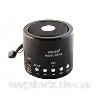 Мини портативная MP3 колонка от USB FM WS-A8 Black