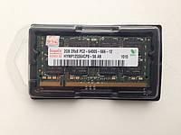 Оперативная память ноутбука (ОЗУ) оперативка Hynix DDR2 2GB 2Rx8 PC2-6400S-666-1