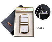 USB зажигалка Jobon №4780-3 электроимпульсная, две электродуги, индикатор заряда, счетчик сигарет.