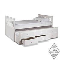 """Кровать """"Хоум"""" с выдвижным спальным местом"""