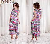 Шифонова літнє плаття (3 кольори), фото 3