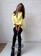 Жакет №FtIg243, желтый