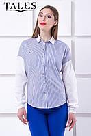 Блузка-оверсайз Yappi, фото 1