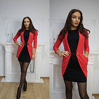 Жакет №FtIg243, красный