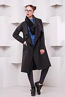 Пальто кэжуал-стиль Мадрид р. 42-48(универсал) серый