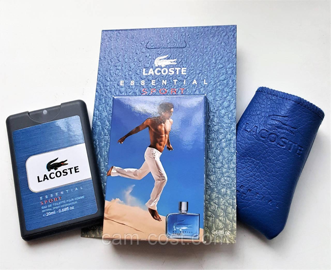 "Парфюм LACOSTE ""Essential Sport"" мужской 20 мл"