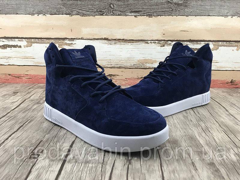 40cb7df1 Кроссовки мужские Adidas Originals Tubular Invader Strap 2.0 navy blue.  адидас тубулар
