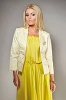 Жакет №Ft139, желтый