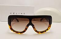 Женские солнцезащитные очки lux Celine ADELE CL 41377/S Цвет коричневый лео