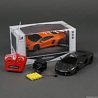 Машина р/у Lamborghini Aventador, черный, белый
