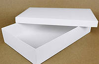 Коробка 400/250/80мм белая