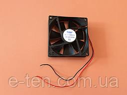 Вентилятор осьовий універсальний Sunflow 92мм*92мм*25мм / 12V / 0,16 А /(квадратний)