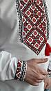 Мужская вышиванка из льна Матвей, фото 4
