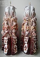 Большой набор свечей для Вашей свадьбы или украшения интерьера на подарок