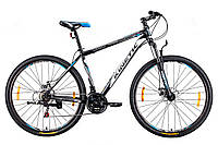 "Велосипед KINETIC UNIC 29'', рама 21"", черно-белый"