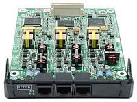 Карта 6-портовая  аналоговых внешних линий с функцией Caller ID (LCOT6) KX-NS5180X