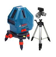 Bosch GLL 5-50 нивелир лазерный линейный + мини штатив (0601063N00)