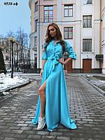 Платье на клепках 0538 Аф