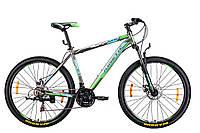 "Велосипед KINETIC UNIC 27,5"", рама 17"", серо-зеленый"