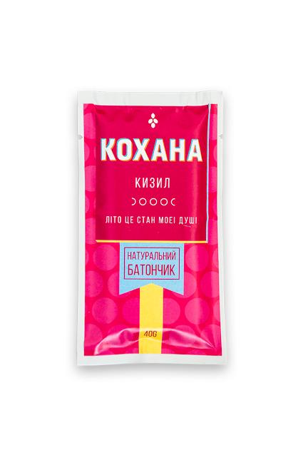 """Натуральный батончик """"Кизил"""" КОХАНА 40 грамм"""