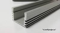 Профиль для лед ленты   Z207-P / AS врезной глубокий
