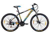 "Велосипед KINETIC UNIC 27,5"", рама 17"", черно-оранжевый"