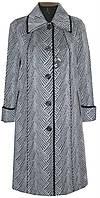 Женское пальто с отделкой