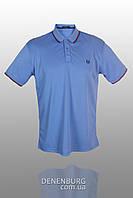 Футболка-поло мужская FRED PERRY 1402 25 голубая, фото 1