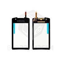 Сенсорный экран для мобильного телефона Samsung S5620 Monte, черный