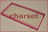Чехол бампер Xiaomi 3 M3 Mi3 bc розовый