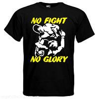 Футболка No fight- no glory