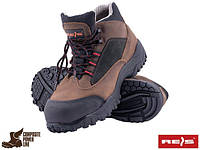 Ботинки с термостойкой подошвой кожаные рабочие унисекс REIS Польша (спецобувь, рабочая обувь) BCH 41