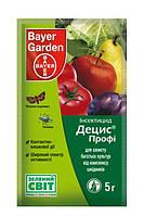 Децис Профи в.г. - инсектицид, 5 г, Bayer CropScience AG (Байер КропСаенс), Германия