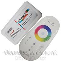 Контроллер Светодиодный RGB 18А-2.4G-Touch 216 вт 2.4G - пульт д/у DC 12 в, фото 2
