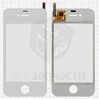 Сенсорный экран для мобильных телефонов China-iPhone 4, 4s, емкостный, белый, 90 мм, тип11, (113 * 56 мм), (74*51мм), #SU-X10D-IV-FPCV2